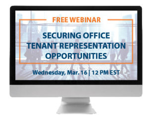 finding and winning tenant representation opportunities