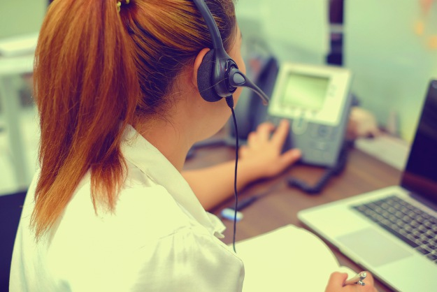 woman calling on avaya phone   An Experiment In Cold Calling And Conversion Statistics
