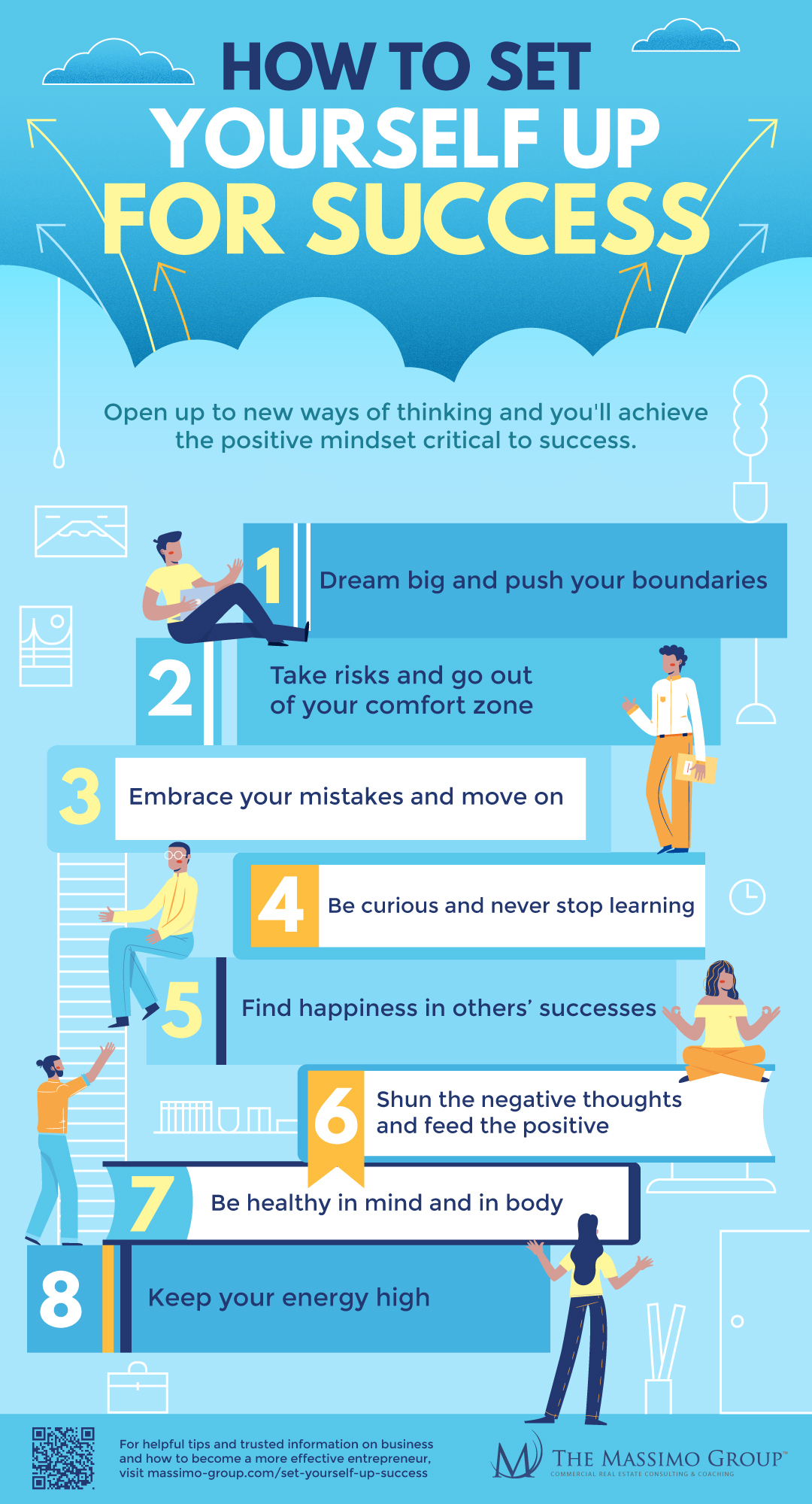 infographic | The Massimo Group-How To Set Yourself Up For Success
